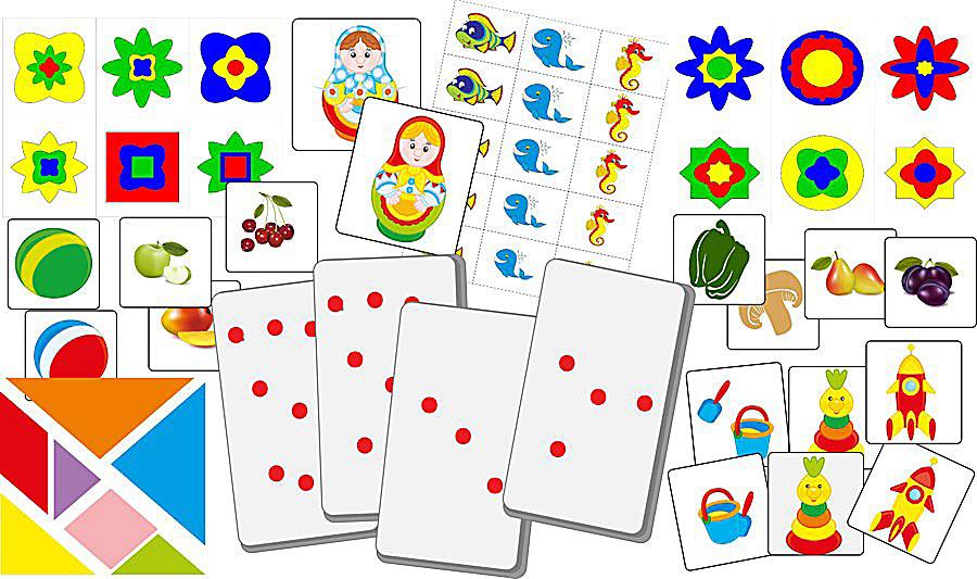 Игры и занятия по методике Макото Шичиды.