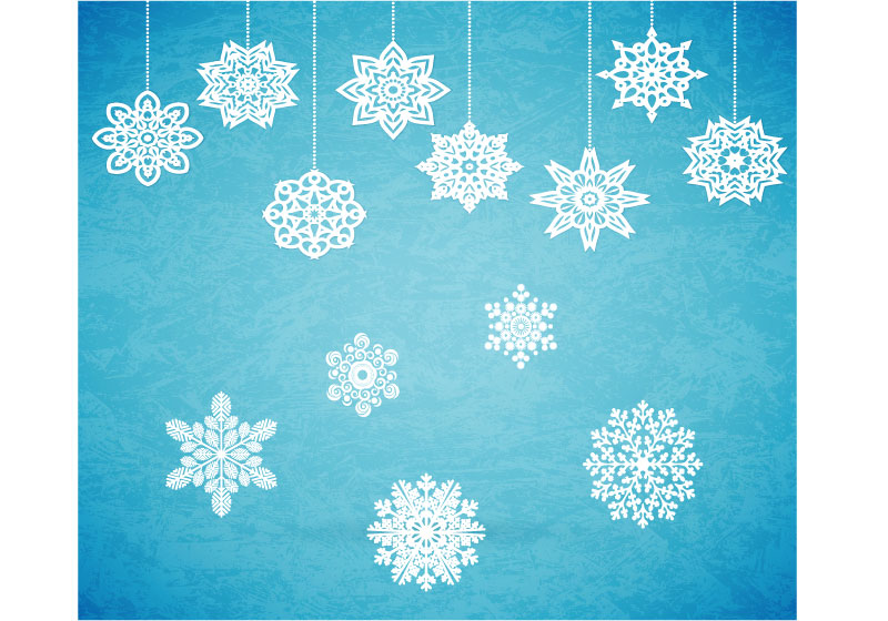 Снежинки - дыхательные игры.