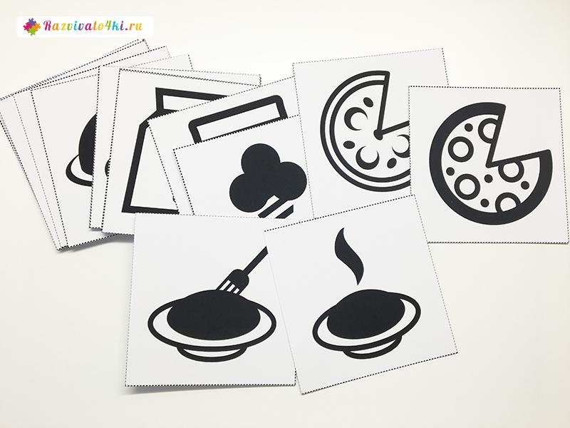 Карточки для развития зрительной памяти