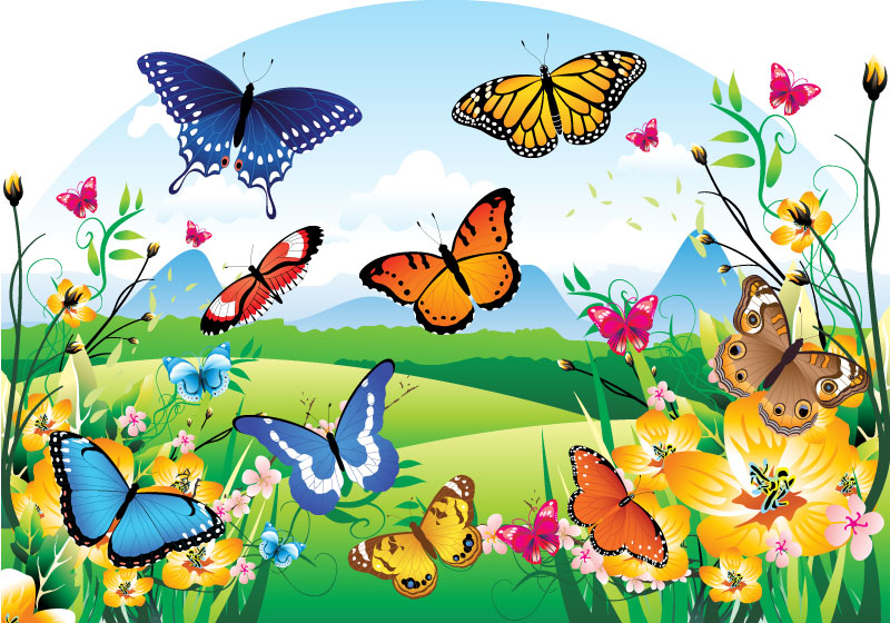 Бабочки - дыхательные игры.